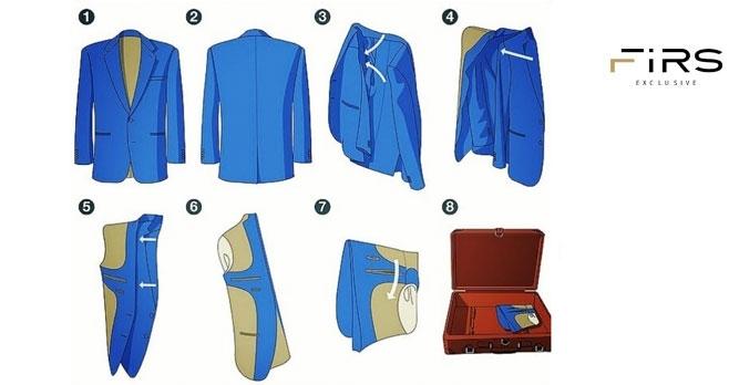 جابجایی لباس در سفر