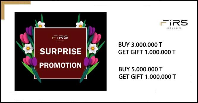 Surprise Promotion