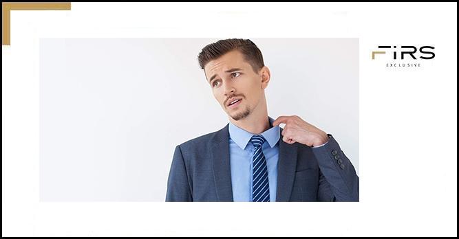 راهنمای یقه پیراهن مردانه